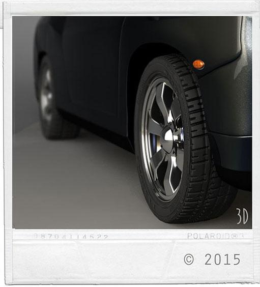 Detalj - Bildäck,  i bilprojekt