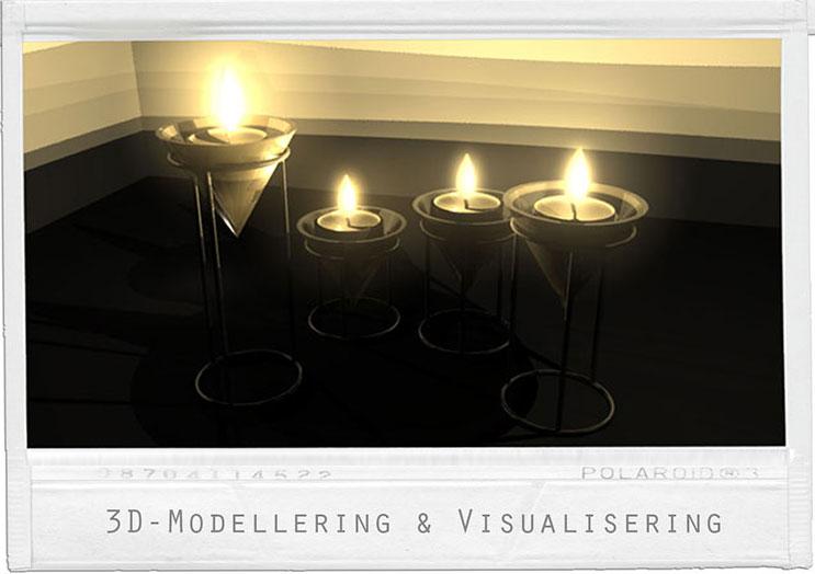 Värmeljus  - Fokus: ljusättning